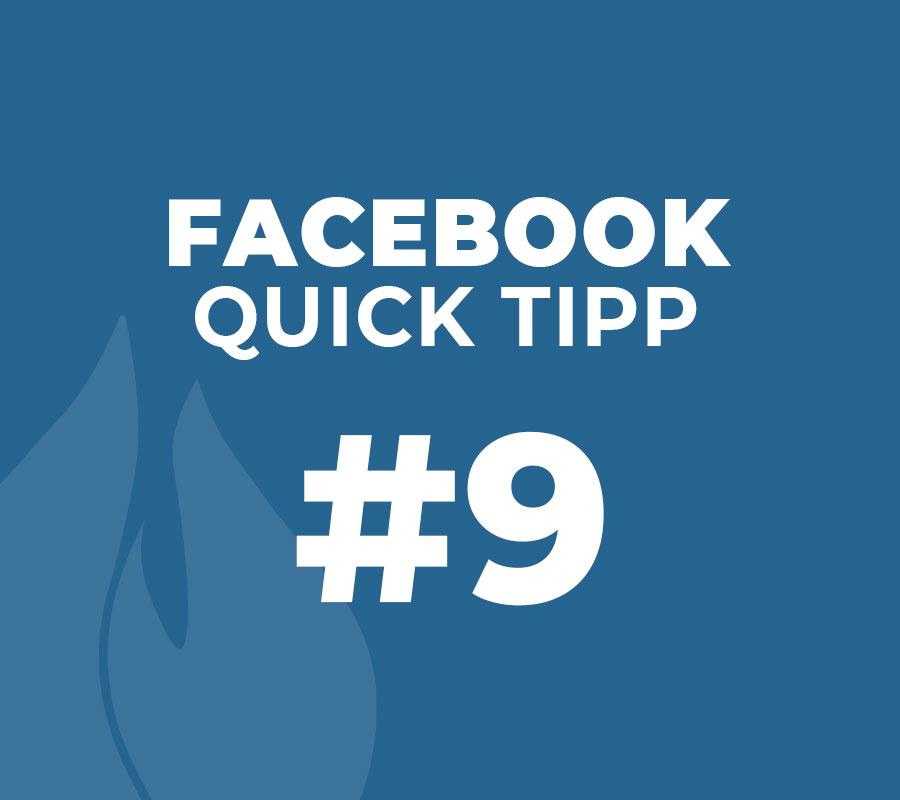 Facebook Seiten Markieren