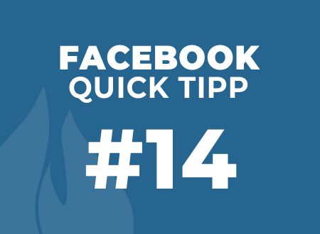 Facebook Quick Tipp #14