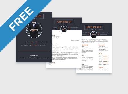 Dark Resume free