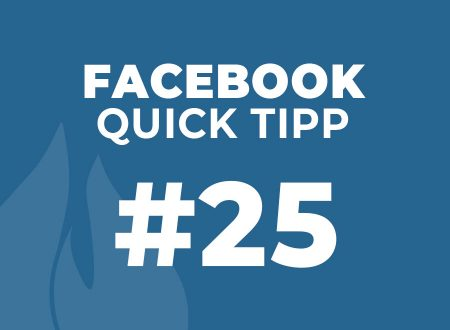 Facebook Quick Tipp #26