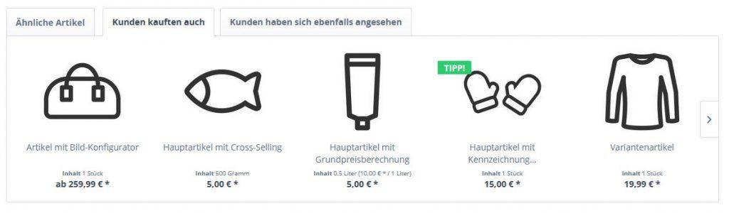 Shopware 5 Empfehlungsmarketing im Frontend