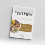 Golden Food Menu – envato market