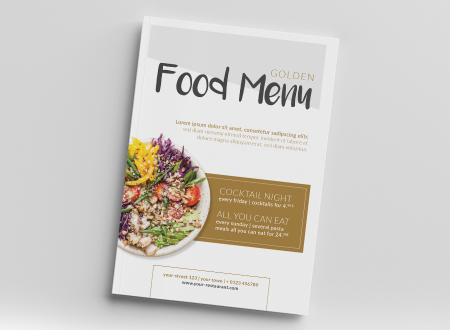 Golden Food Menu