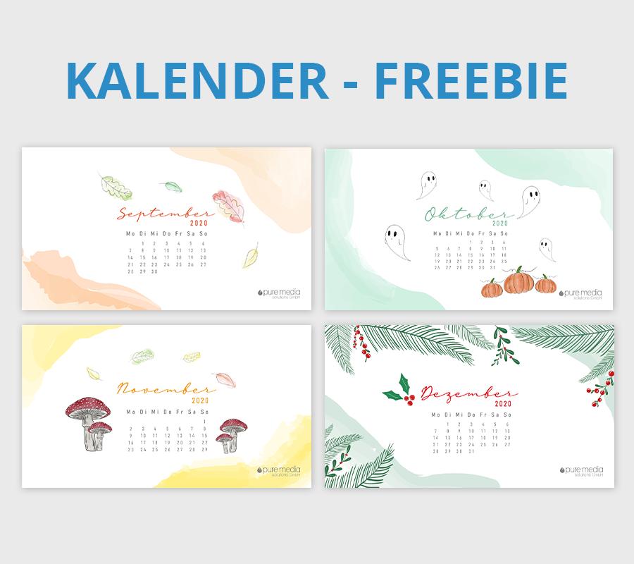 Monthly Wallpaper Calendars