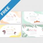 Wallpaper: Monats-Kalender