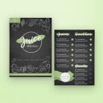 Chalkboard Juice Menu – envato market