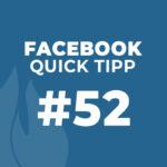 Facebook Quick Tipp #52: Richtige Verwendung des Facebook Logos