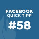 Facebook Quick Tipp #58: Sofortantworten bei Kontaktaufnahme im Messenger