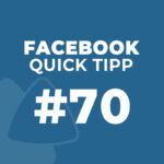 Facebook Quick Tipp #70: Benutzernamen erstellen
