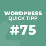 WordPress Quick Tipp #75: Elementor – responsive Seiten und Beiträge