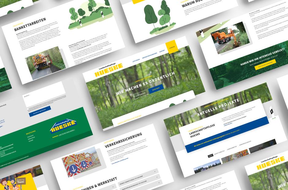 Landschaftspflege Hueske Referenz