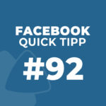 Facebook Quick Tipp: #92: Link-Vorschau aktualisieren