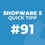 Shopware 5 Quick Tipp #91: Warenkorb und Filter funktionieren nicht – Lösung