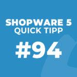 Shopware 5 Quick Tipp #94: Riskmanagement – Zahlungsarten sperren