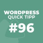 WordPress Quick Tipp #96: Kommentarfunktion global über ein Plugin deaktivieren
